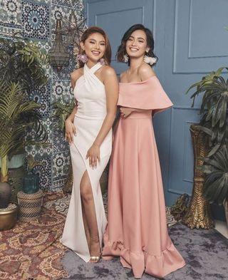 Ladies Semi-Formal Long Dress
