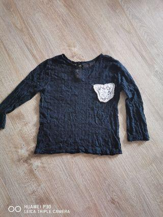 See trough blouse