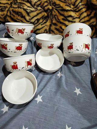 巴哥 狗狗 法鬥 寵物 陶瓷 碗盤 廚房 用餐 餐飲 毛小孩
