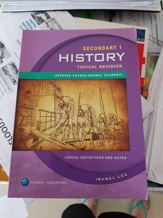 🚚 Sec 1 history book