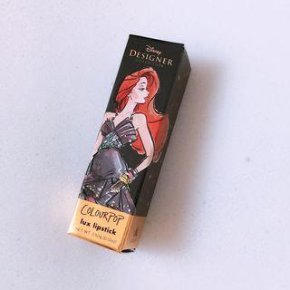 🚚 Colourpop Disney designer lux lipstick Ariel