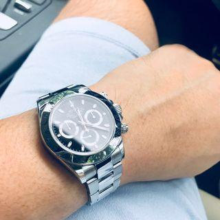 Rolex Daytona 116520 white and black