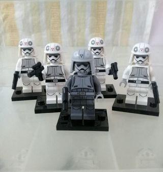 Lego Star Wars Minifigures At-DP Driver x5