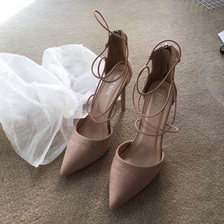 PUBLIC DESIRE nude heels