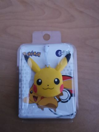 Rare Pokemon EZ LINK ChArm Pikachu