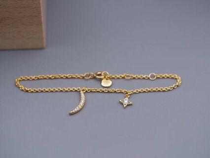 Hefang bracelet 星月手鏈