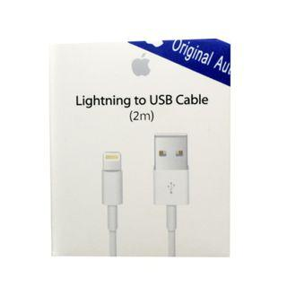 🚚 2m~100% Original Apple Lightning Cable 2m (Long Cable)