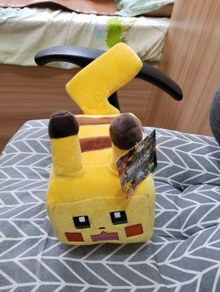 Pokemon 寵物小精靈 寶可夢 四方比卡超 毛公仔 (任選$29公仔4隻$100成交)