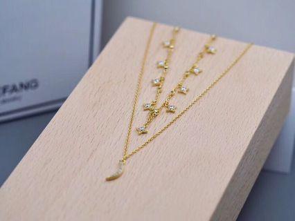 Hefang necklace 星月項鏈