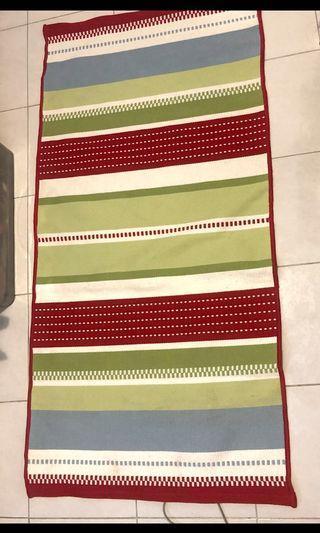Ikea Torva Rand stripes carpet . 70x140cm . New with plastic