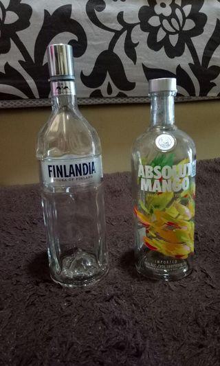 Botol  minuman kosong
