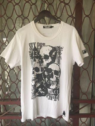 Sex pot  revenge japanese punk brand tshirt
