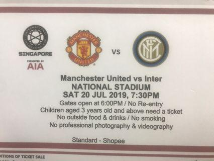 Manchester United tickets for ICC event singapore