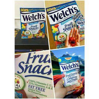 美國進口Welch's果汁軟糖(1盒80小包)