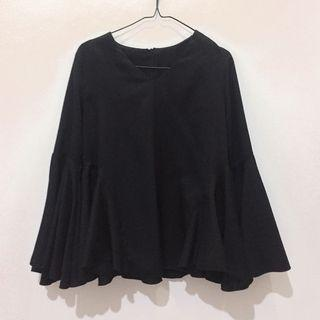 Black Long Sleeve With Batwing