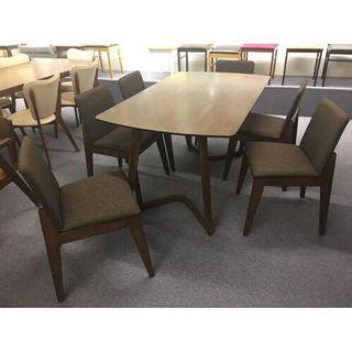 6+1 dining table (FREE POSTAGE) NO COD NO SELFPICKUP