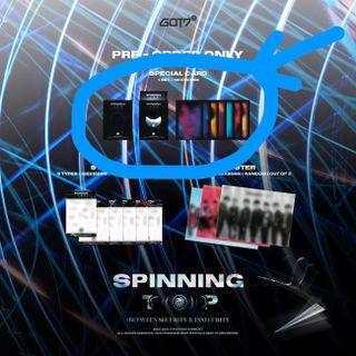 [WTS] GOT7 Spinning Top Album PO Benefit Photocards (No Stickers)