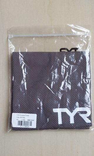 🚚 TYR Cooling Towel - grey color