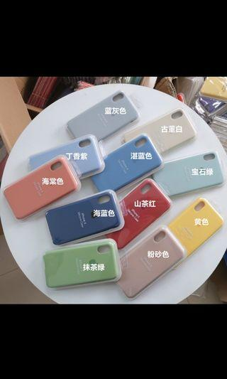LOGO 100% Original Silicon Case for iPhones