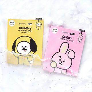 BTS BT21 X MEDIHEAL FACE POINT MASK