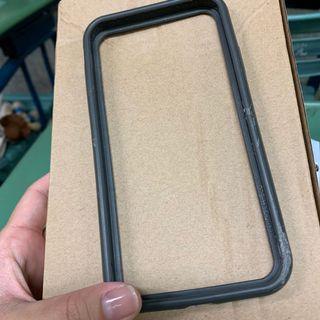 iPhone XR 鐵灰色犀牛盾 邊框+背蓋