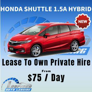 [ Brand New ] HONDA SHUTTLE 1.5A HYBRID * Lease To Own *