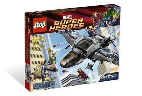 LEGO Marvel Superheroes Avengers Quinjet Aerial Battle 樂高 復仇者联盟 昆式戰机