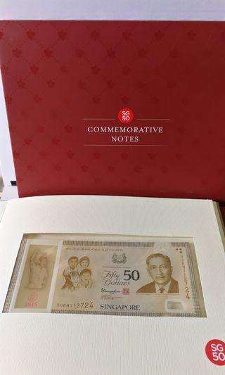 🚚 SG50 & SG10x5 Commemorative Notes
