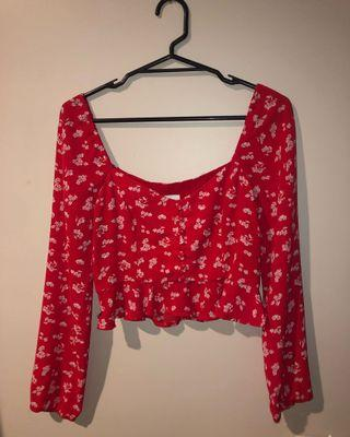 Luck and trouble top size 8