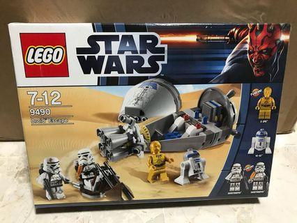 LEGO Star Wars 樂高 星球大戰 9490 Droid Escape MISB