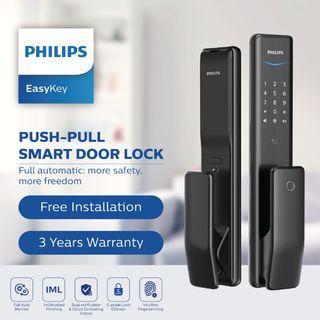 Philip Push-Pull Smart Door Lock (NEW)