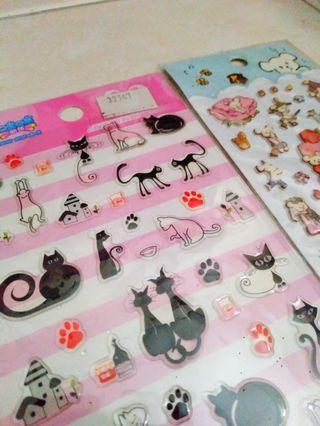 ❤️ !Stickers! ♥️ Cats and Bears with Fairy Tale Theme.