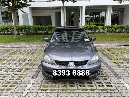 Mitsubishi Lancer for Daily/Weekly/Monthly Rent