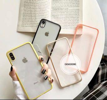Iphone6-XR Colourful Casing