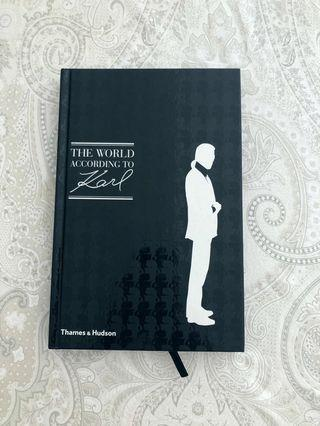 Karl Lagerfeld quote book
