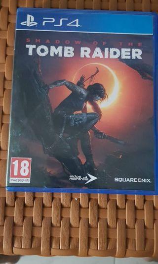 CD GAME PS 4 TOMB RAIDER