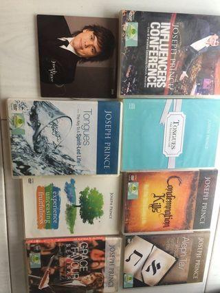 Joseph Prince Various DVDs and CDs