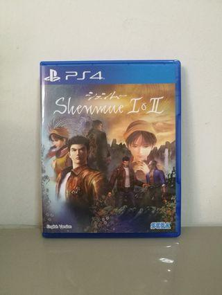 Ps4 Shenmue 莎木 I & II