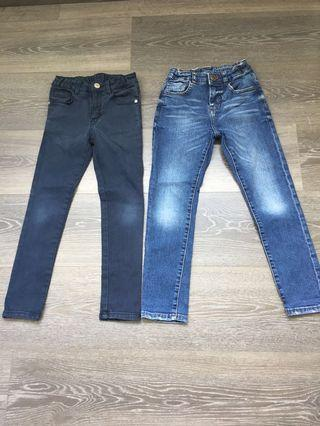 Zara boys jeans 122cm or 7 yo