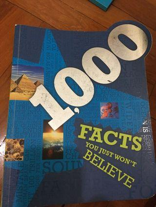 1000 facts book