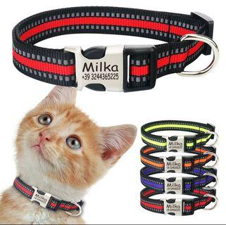 Pet Collar with engraving