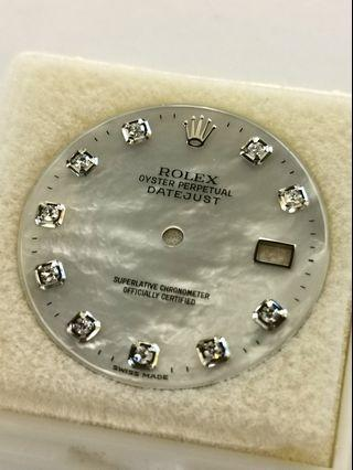 Rolex Original MOP diamonds dial for datejust