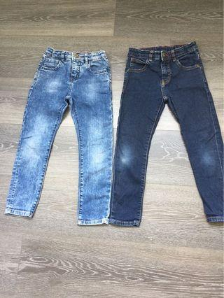 Zara boys jeans 116cm or 6 yo