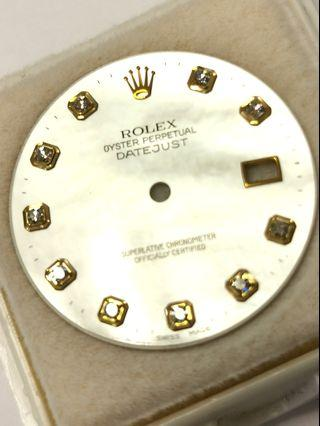 Rolex MOP dial diamonds dial datejust 36