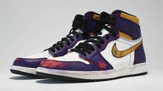 Nike SB x Air Jordan 1 Defiant LA to Chicago US 10