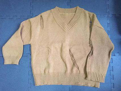 V領sweater
