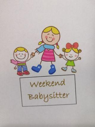 Weekend babysitter / part time nanny