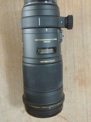Sigma Apo Macro 180mm f2.8 Canon Mount