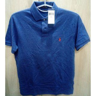🚚 Ralph Lauren 男 Polo 衫 M號 藍色 短袖