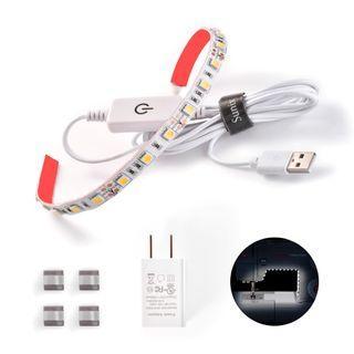 SU252 縫紉機LED燈條照明套件帶觸摸調光器和USB電源